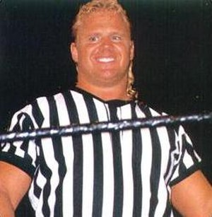 Curt Hennig - Hennig guest refereeing at WrestleMania X in 1994