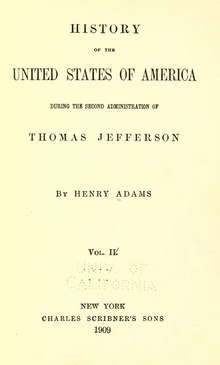 Henry Adams' History of the United States Vol. 4.djvu