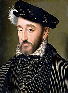 King Henry II of France died on July 10, 1559 Henry II of France..jpg