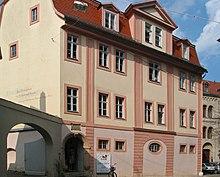 Herders Wohnhaus hinter der Herderkirche in Weimar (Quelle: Wikimedia)