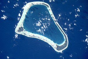 Hereheretue - NASA picture of Hereheretue Atoll