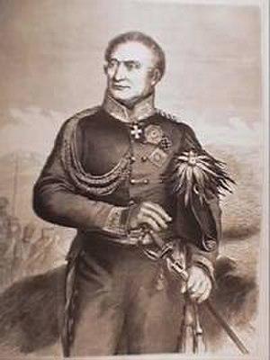 Battle of Gué-à-Tresmes - Friedrich von Kleist