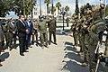 Hichem Mechichi rend visite aux USGN, Tunisie.jpg