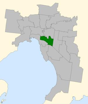 Higgins by-election, 2009 - Image: Higgins 2007 in Melbourne