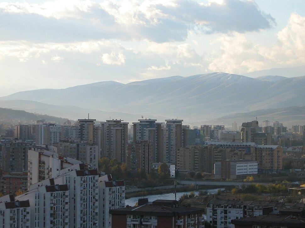 Highrises in Skopje
