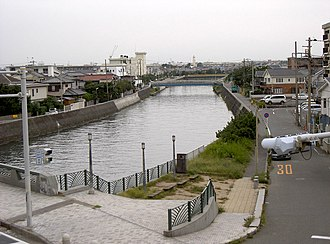 Hikiji River - Approaching the mouth of the Hikiji River.