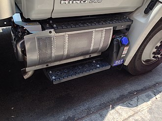 Diesel particulate filter - Image: Hino Standardized SCR Unit