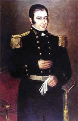 Hippolyte Bouchard - Hippolyte Bouchard, oil on canvas  by José Gil de Castro