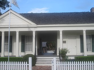National Register of Historic Places listings in Bossier Parish, Louisiana - Image: Historic Hughes House in Benton, LA IMG 2384