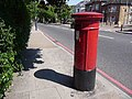 Hither Green, postbox No. SE6 25, Brownhill Road - geograph.org.uk - 1331567.jpg