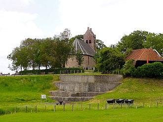 Hegebeintum - Church and dwarf of Hogebeintum