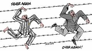 Carlos Latuff - Image: Holocaust Remembrance Day