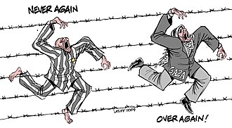 Carlos Latuff - Image: Holocaust Remembrance Day