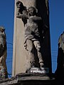 Holy Trinity column. Listed ID 8723. Statue of Saint Sebastian. - Simontornya.JPG