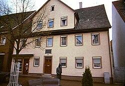 Mörike's home in Lorch, Württemberg (Source: Wikimedia)