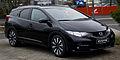 Honda Civic Tourer (IX) – Frontansicht, 16. März 2014, Düsseldorf.jpg