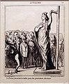 Honoré victorin daumier, la francia prepara i suoi candidati..., dalla serie attualità, 1869, litografia.jpg