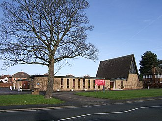 Hoole Village - Image: Hoole United Reformed Church, Chester geograph.org.uk 675214