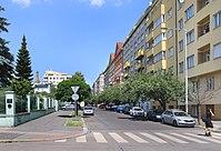 Hradecká street, Praha, south part.jpg