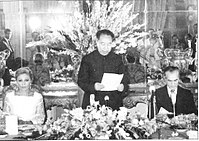 Hua Guofeng with Shah Mohammad Reza Pahlavi during a state visit in Iran.jpg