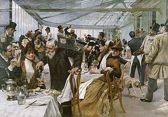 Hugo Birger - Image: Hugo birger Skandinaviska konstnärernas frukost