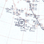 Hurricane Emily surface analysis June 29, 1963.png