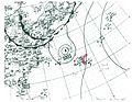 Hurricane Three surface analysis 1943.jpg