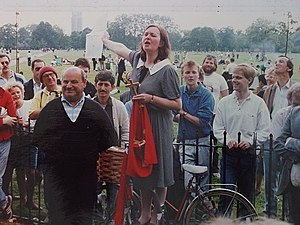 Speakers' Corner - Speaker's Corner, April 1987
