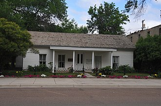 National Register of Historic Places listings in Chouteau County, Montana - Image: I. G. BAKER HOUSE; CHOUTEAU COUNTY, MONTANA