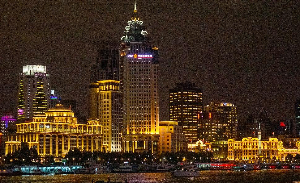 ICBC building on the Bund, Shanghai