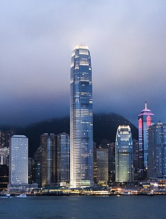 International Finance Centre (Hong Kong) commercial development in Central, Hong Kong