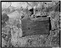 INTERIOR DETAIL - WOOD BLOCK IN WALL - Kandt-Domann Farmstead, Barn, State Route 3, Hope, Dickinson County, KS HABS KANS,21-HOPE.V,1-B-13.tif
