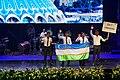 IPhO-2019 07-07 opening team Uzbekistan.jpg
