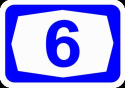 الطريق السريع 6 (إسرائيل) - ويكيبيديا، on