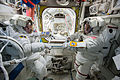 ISS-42 EVA-3 (p) Wilmore and Virts suited up.jpg