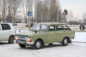 Izh 2125 - Image: IZH 2125 in Seversk