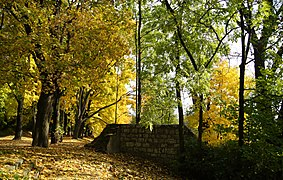 I WW, Austro-Hungarian fortifications-Krakow Fortress, Kosciuszko fortress gate-relicts, Waszyngtona Av, Krakow, Poland.jpg