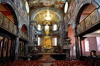 Unionskirche, Idstein - Image: Idstein, Unytsjerke. Oersjoch ynterieur