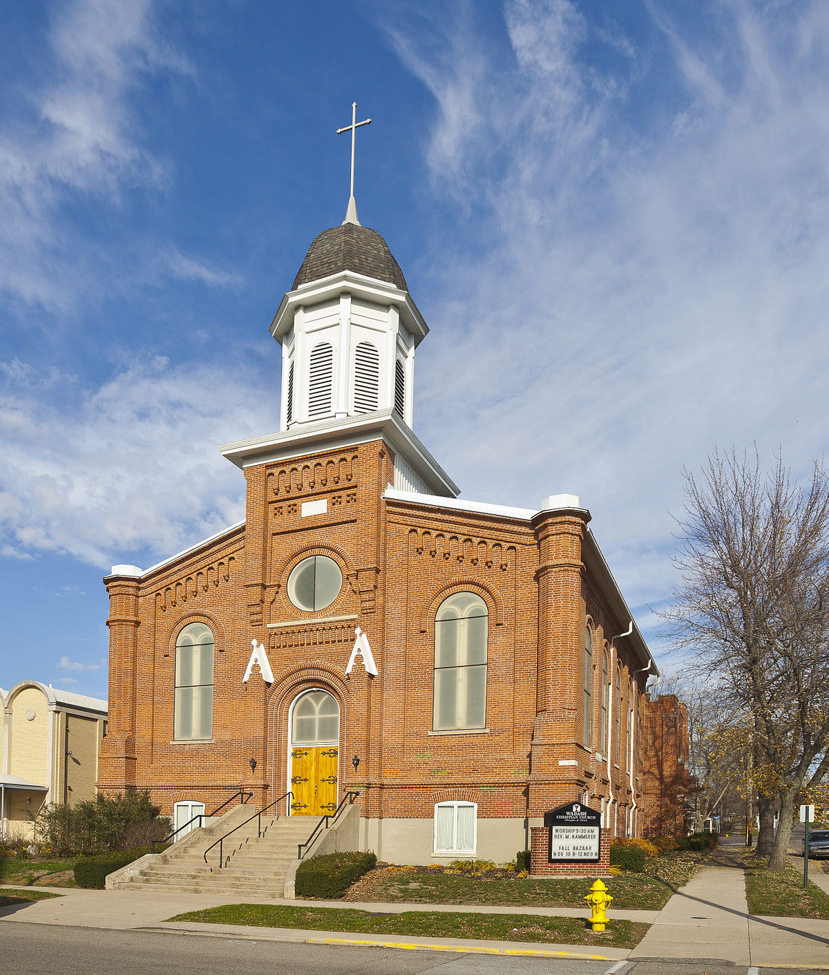 First Christian Church Wabash Indiana Wikipedia