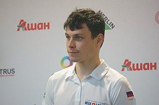 Igor Kononov Russian ice speedway world champion (born 1987)