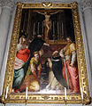 Il poppi, crocifisso che parla a san tommaso e santi (1590 ca) 01.JPG