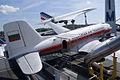 Ilyushin Il-14P Crate Bulgarian Air Transport AboveRSideRear SATM 05June2013 (14600056422).jpg