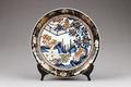 Imari porslinsfat gjort på 1700-talet i Japan - Hallwylska museet - 95955.tif