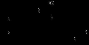 Struktur von Imidocarb
