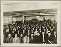 Immigrants in English class given by Training Service of the Department of Labor in Ford Motor Co. Factory, Detroit, Michigan LCCN90707449.jpg