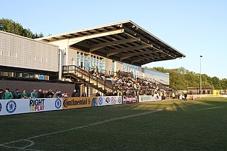 Chelsea F.C. Women - Imperial Fields, Chelsea's home ground in 2011