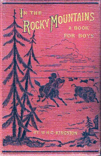 In the Rocky Mountains - book cover - Project Gutenberg eText 19419
