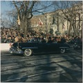 Inaugural Parade. President and First Lady in Limousine, spectators. Washington, D.C., Pennsylvania Ave. - NARA - 194223.tif