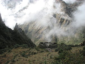 Inca Trail to Machu Picchu - The tambo Runkuraqay