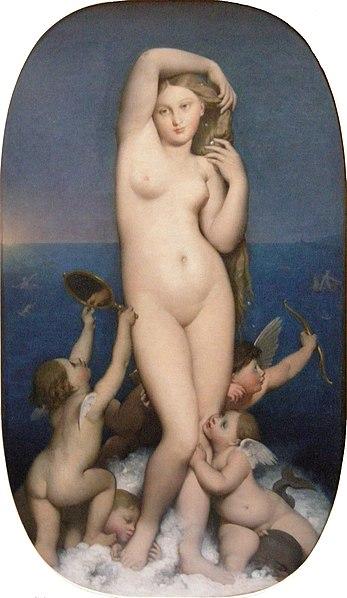 ファイル:Ingres, venere anadyomène.JPG